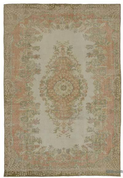 Turkish Vintage Area Rug - 5'11'' x 8'11'' (71 in. x 107 in.)