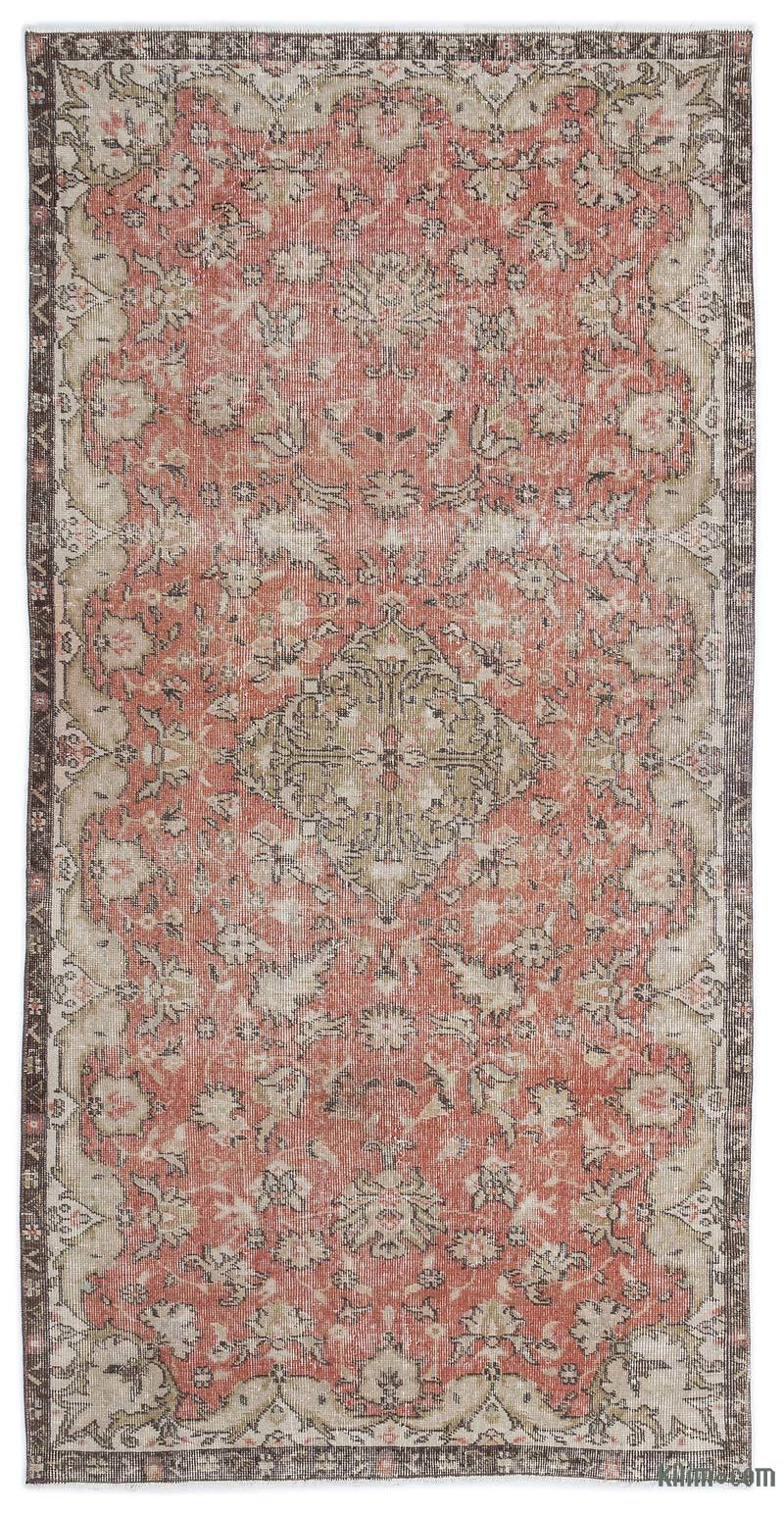 K0019205 Turkish Vintage Rug 3 10 X 7 5 46 In X 89