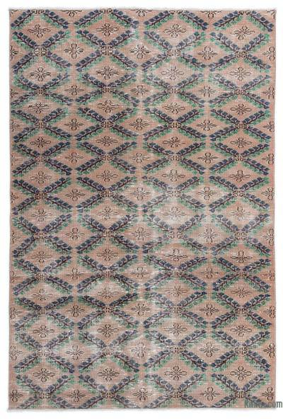 "Turkish Vintage Area Rug - 4'7"" x 6'11"" (55 in. x 83 in.)"