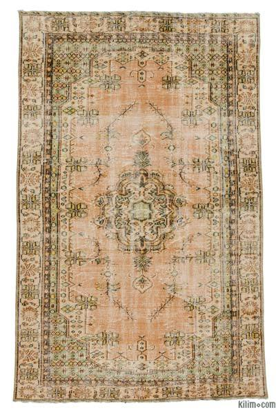 "Turkish Vintage Rug - 5'4"" x 8'8"" (64 in. x 104 in.)"