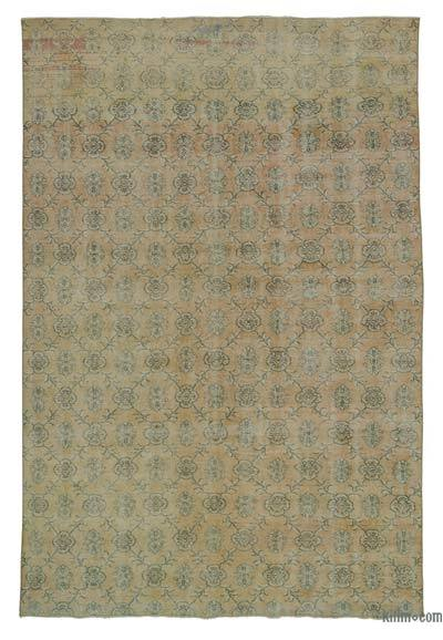 "Turkish Vintage Area Rug - 7' x 10'4"" (84 in. x 124 in.)"