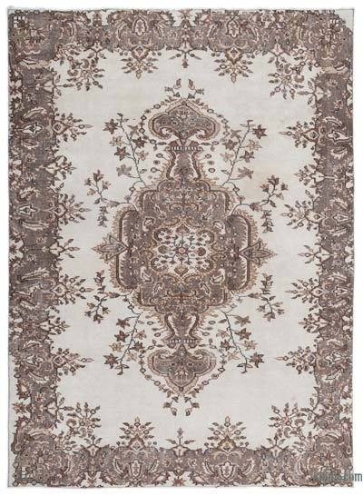 "Turkish Vintage Area Rug - 5'10"" x 8'2"" (70 in. x 98 in.)"