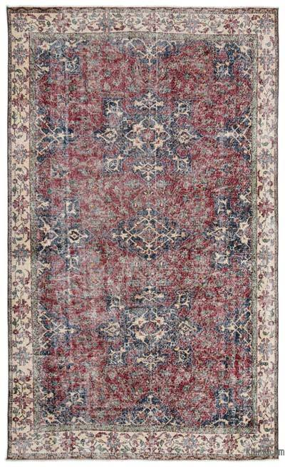 Turkish Vintage Rug - 6' x 10'3'' (72 in. x 123 in.)