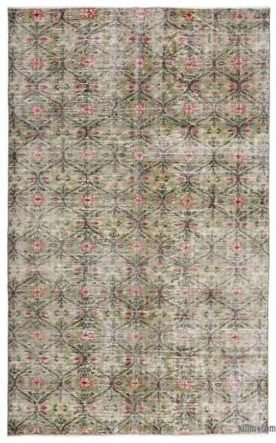 "Turkish Vintage Area Rug - 5'7"" x 9' (67 in. x 108 in.)"