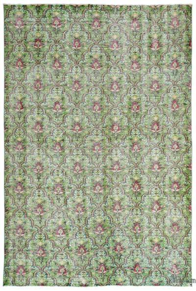 "Turkish Vintage Area Rug - 6' x 8'10"" (72 in. x 106 in.)"