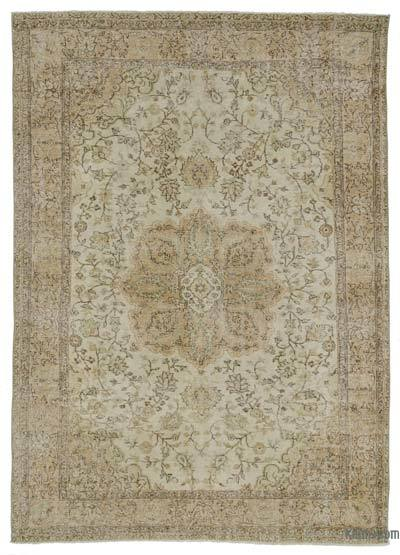 Over-dyed Turkish Vintage Rug - 6'5'' x 9'3'' (77 in. x 111 in.)