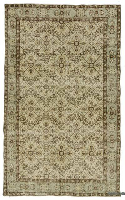 "Turkish Vintage Area Rug - 5'7"" x 9'6"" (67 in. x 114 in.)"