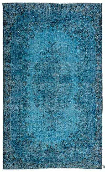 "Over-dyed Turkish Vintage Rug - 6'4"" x 10'6"" (76 in. x 126 in.)"