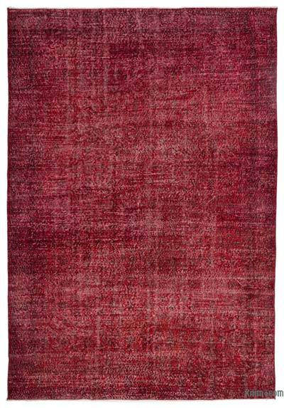 "Over-dyed Turkish Vintage Rug - 7'1"" x 10'3"" (85 in. x 123 in.)"