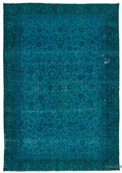 "Over-dyed Vintage Hand-knotted Oriental Rug - 8'10"" x 12'10"" (106 in. x 154 in.)"
