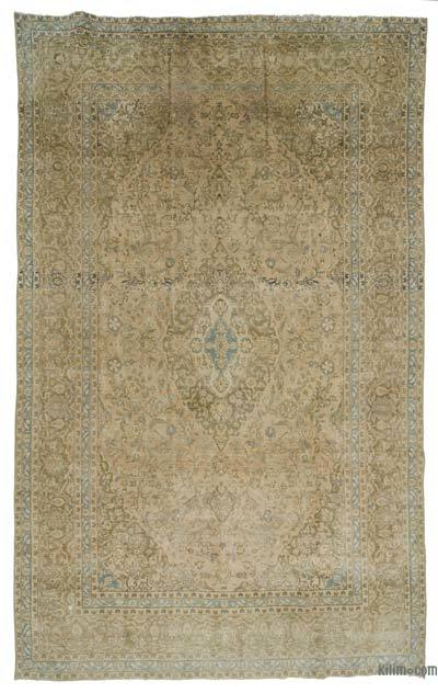 "Vintage Hand-knotted Oriental Rug - 7'10"" x 12'10"" (94 in. x 154 in.)"
