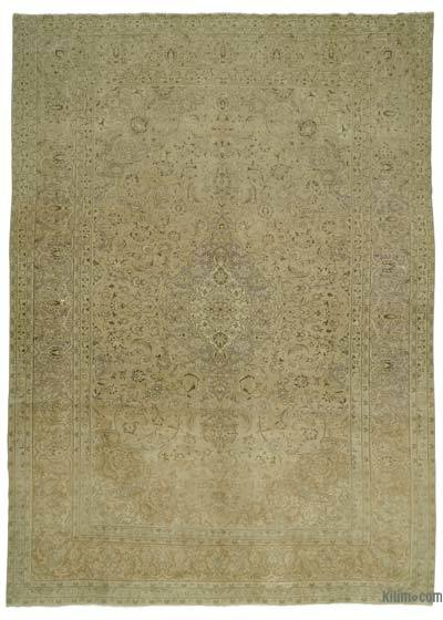 "Over-dyed Vintage Hand-knotted Oriental Rug - 9'4"" x 12'9"" (112 in. x 153 in.)"