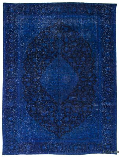 "Over-dyed Vintage Hand-knotted Oriental Rug - 9'8"" x 12'9"" (116 in. x 153 in.)"