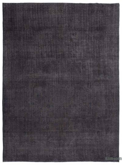 Grey Over-dyed Vintage Rug - 9'11'' x 13'7'' (119 in. x 163 in.)