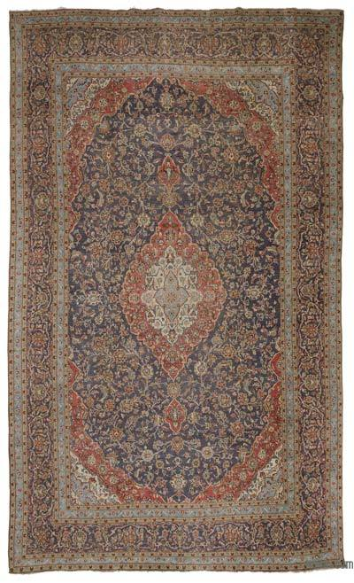 "Vintage Hand-knotted Oriental Rug - 9'7"" x 16'2"" (115 in. x 194 in.)"