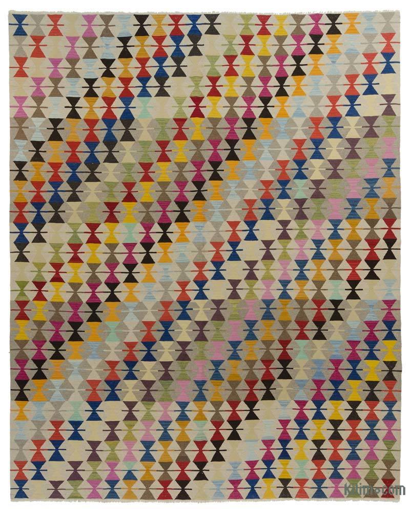 K0020595 Multicolor New Turkish Kilim Rug