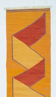 K0004678 Orange New Turkish Kilim Rug