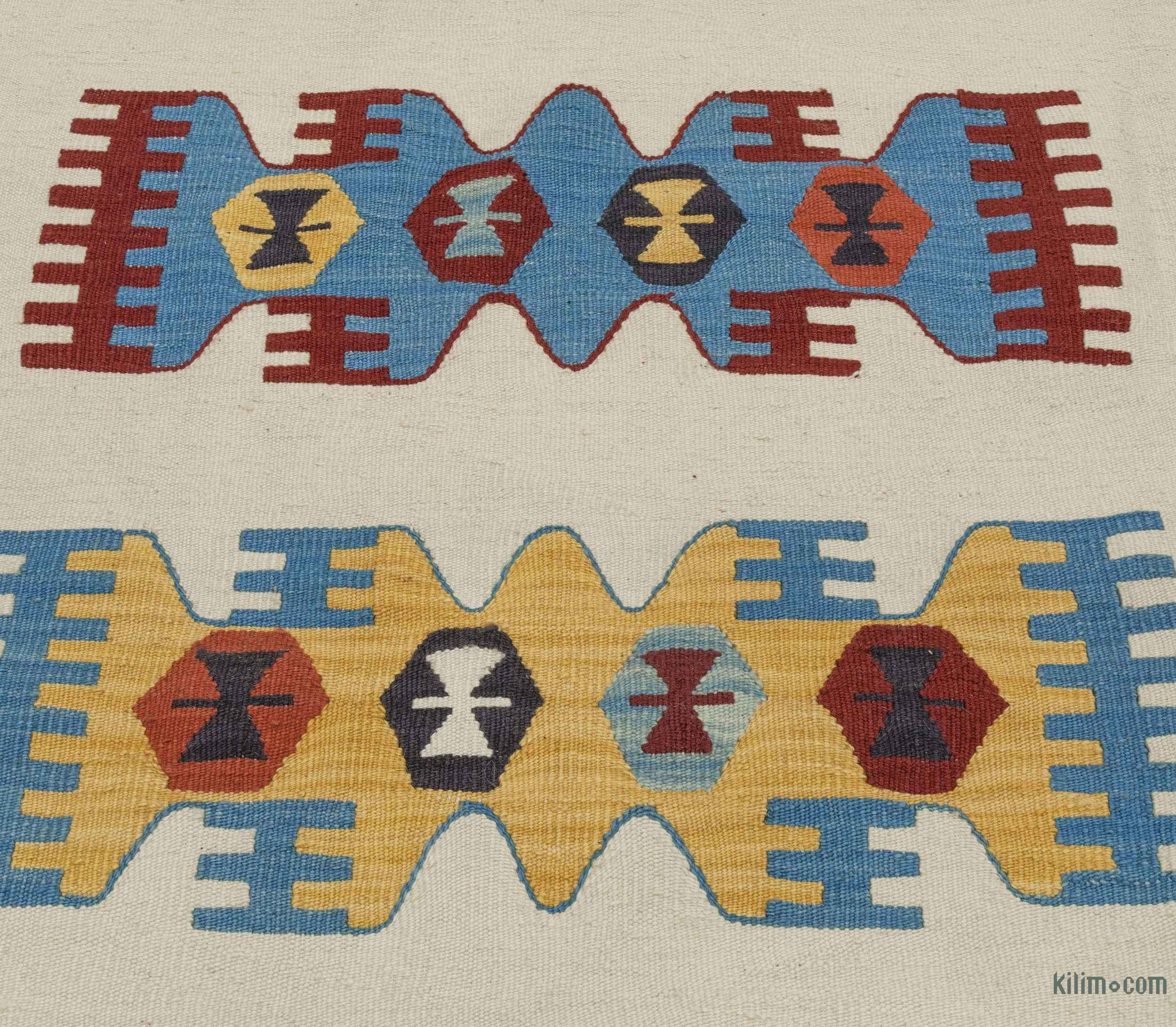 K0020754 Beige New Turkish Kilim Rug