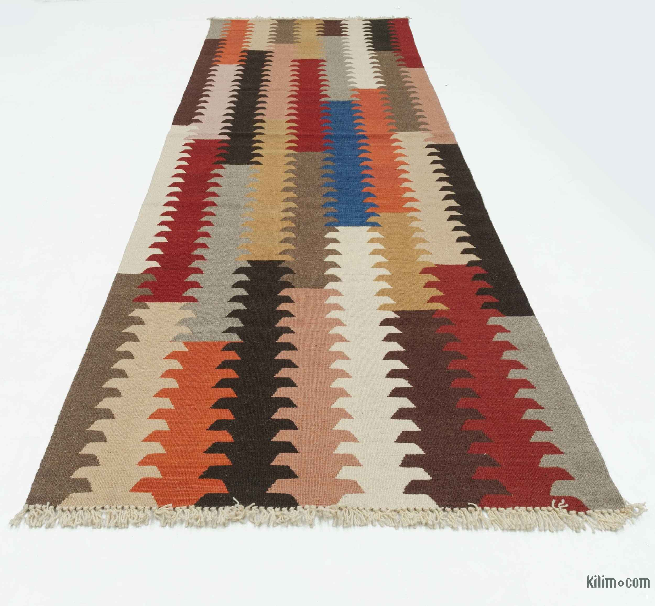 K0020756 Multicolor New Turkish Kilim Runner