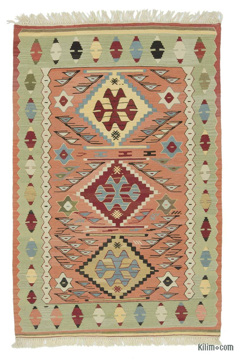 Rugs And Kilims Are The Master Elements Of Bohemian Style: K0020801 Multicolor New Turkish Kilim Rug
