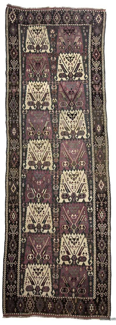 Antique Kagizman Kilim Rug