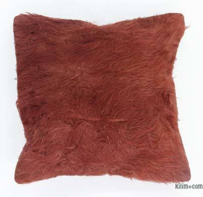 Red Pillow Cover - 1'4'' x 1'4'' (16 in. x 16 in.)