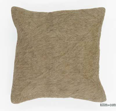 Beige Pillow Cover - 1'4'' x 1'4'' (16 in. x 16 in.)
