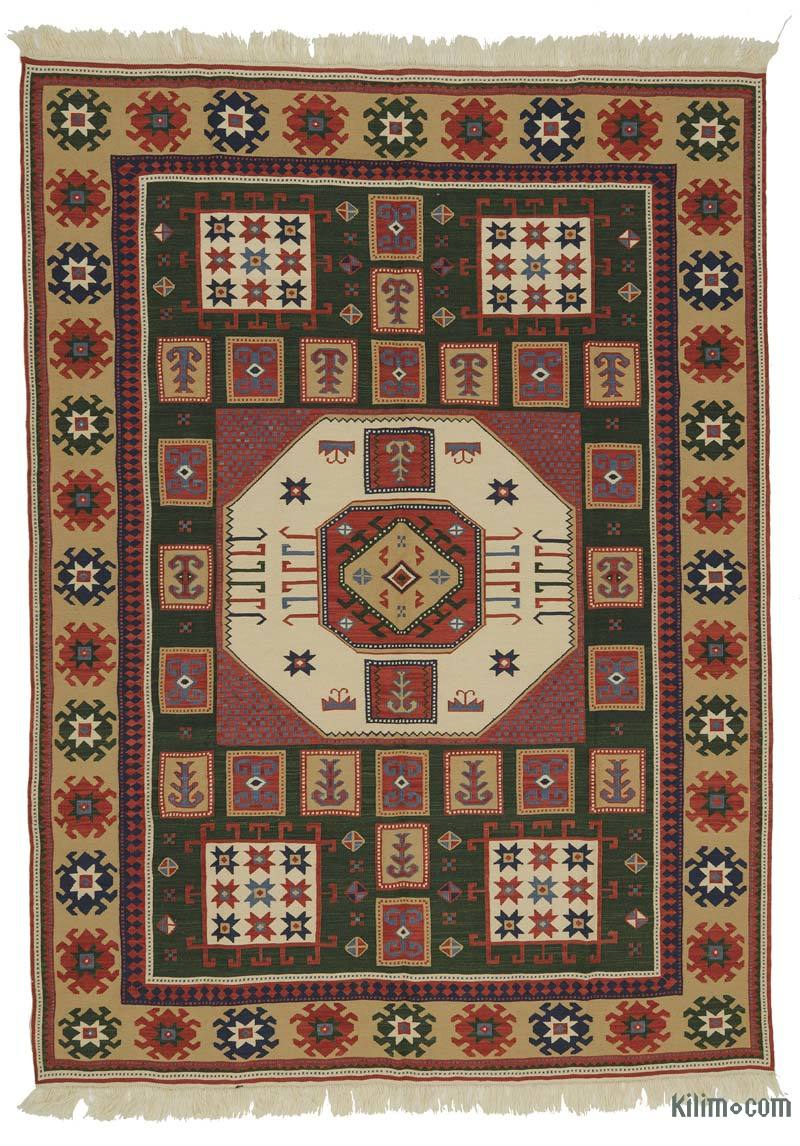 K0021052 Brown New Turkish Kilim Rug
