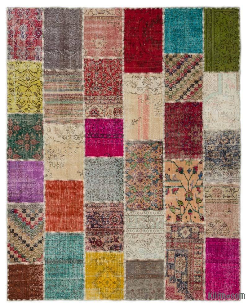 K0021179 Multicolor Turkish Patchwork Rug 8 X 10 1 Quot 96