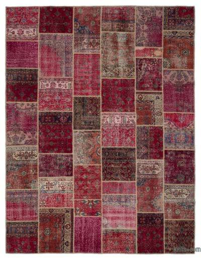 Turkish Patchwork Rug - 9'1'' x 12' (109 in. x 144 in.)