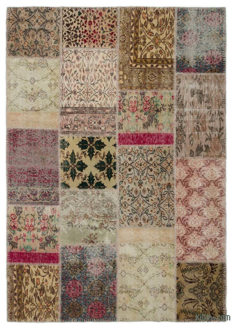 Gray Area Rug Patchwork Patchwork Cowhide Leather Rug