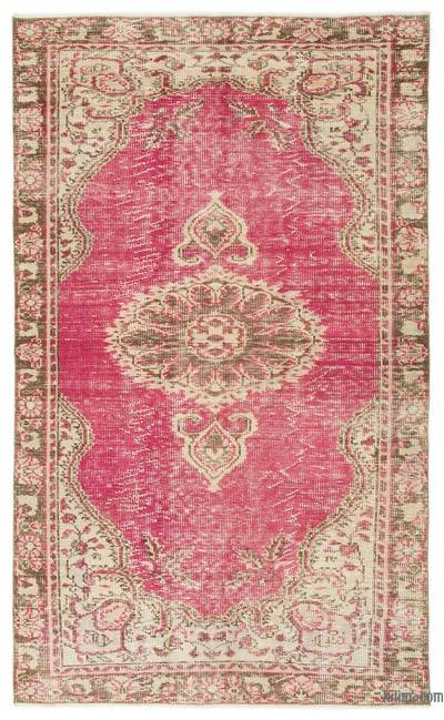 "Turkish Vintage Area Rug - 4'9"" x 7'10"" (57 in. x 94 in.)"