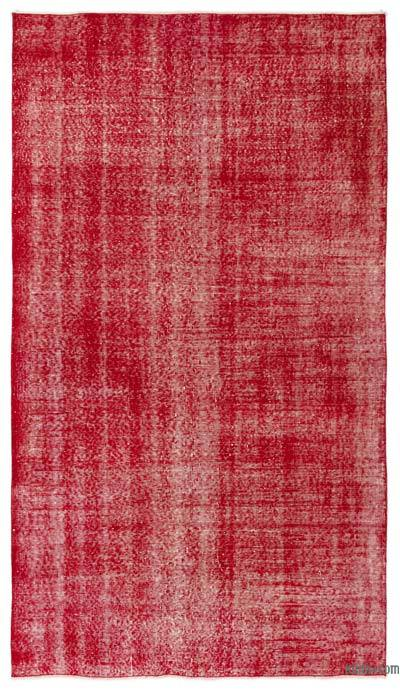 "Over-dyed Turkish Vintage Rug - 4'10"" x 8'5"" (58 in. x 101 in.)"