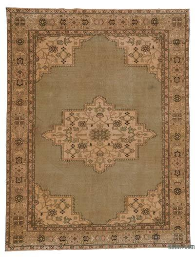 Turkish Vintage Area Rug - 6'9'' x 8'10'' (81 in. x 106 in.)