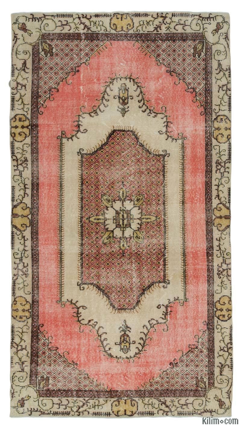 K0022293 Turkish Vintage Rug 5 1 X 9 4 61 In X 112