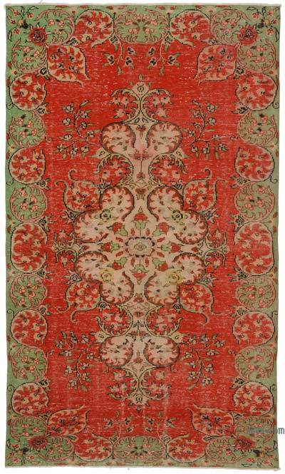 "Turkish Vintage Area Rug - 6'1"" x 10'4"" (73 in. x 124 in.)"