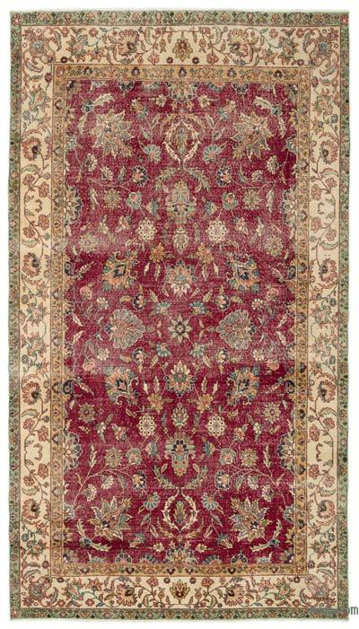 "Turkish Vintage Area Rug - 6' x 10'11"" (72 in. x 131 in.)"