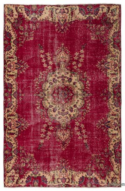 Turkish Vintage Rug - 5'9'' x 9' (69 in. x 108 in.)