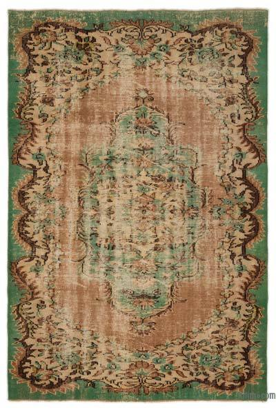 "Turkish Vintage Area Rug - 5'6"" x 8'4"" (66 in. x 100 in.)"