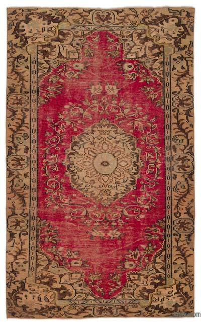 "Turkish Vintage Area Rug - 4'11"" x 8'2"" (59 in. x 98 in.)"