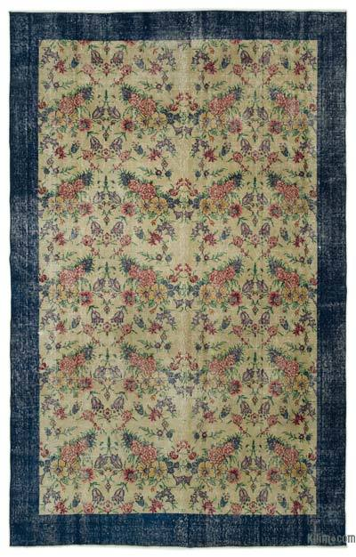 "Turkish Vintage Area Rug - 6'2"" x 9'9"" (74 in. x 117 in.)"