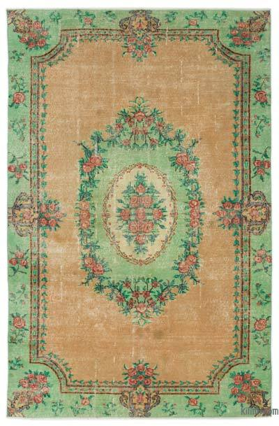 Turkish Vintage Rug - 5'8'' x 8'10'' (68 in. x 106 in.)