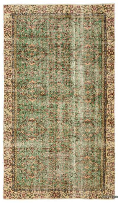 "Turkish Vintage Area Rug - 4'11"" x 8'7"" (59 in. x 103 in.)"