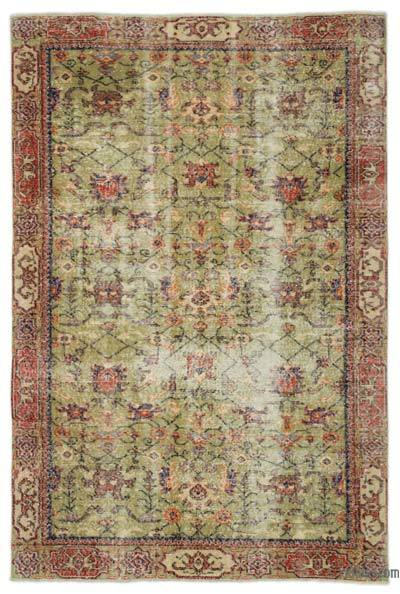 "Turkish Vintage Area Rug - 5'6"" x 8'3"" (66 in. x 99 in.)"