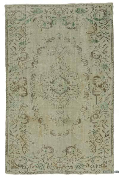 "Turkish Vintage Area Rug - 5'7"" x 8'6"" (67 in. x 102 in.)"