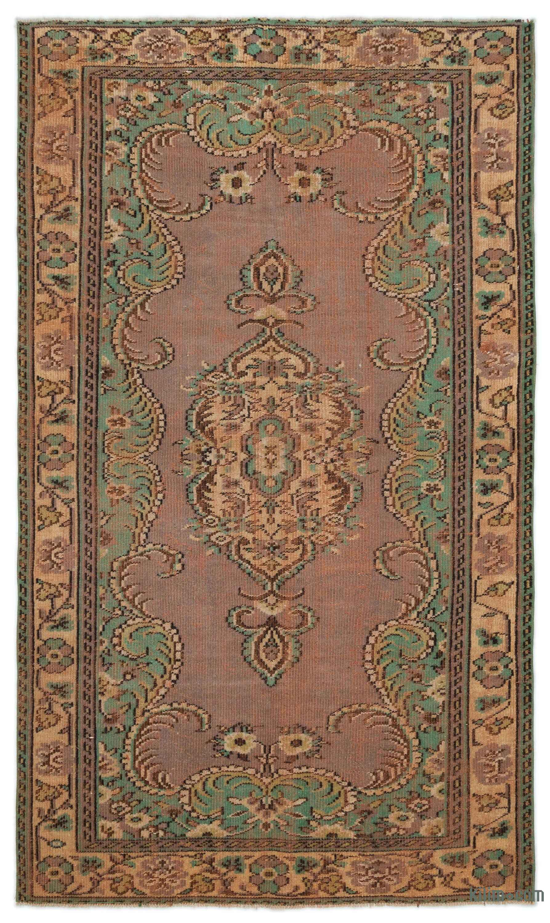 k0022779 turkish vintage rug 5 3 x 8 8 63 in x 104 87969