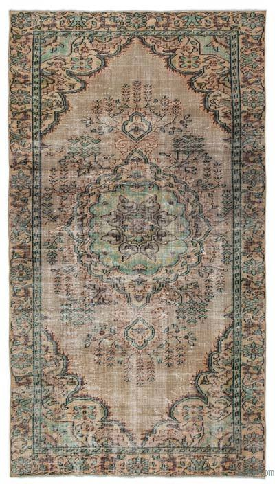 "Turkish Vintage Area Rug - 4'11"" x 8'11"" (59 in. x 107 in.)"