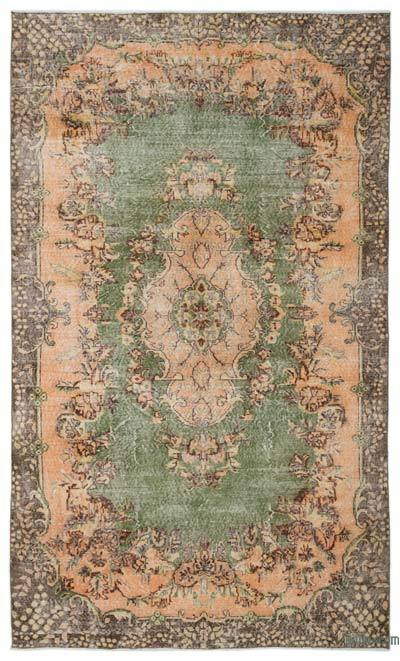 "Turkish Vintage Area Rug - 6'5"" x 10'6"" (77 in. x 126 in.)"