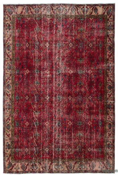 "Turkish Vintage Area Rug - 6'6"" x 9'8"" (78 in. x 116 in.)"