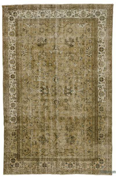 "Turkish Vintage Area Rug - 6'5"" x 10'2"" (77 in. x 122 in.)"